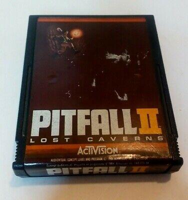Atari 2600 games Pitfall 2 Lost Caverns *Rare Game*