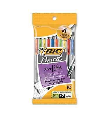 Bic Mechanical Pencil, Medium Point (0.7 mm) 10 ea