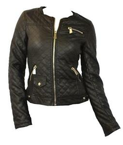 Womens Black Leather Jackets | eBay