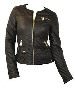 Women s Size 14 Black Leather Jackets 8d7223503e58