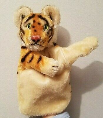 Mr Rogers Daniel Striped Tiger Steiff Hand Puppet