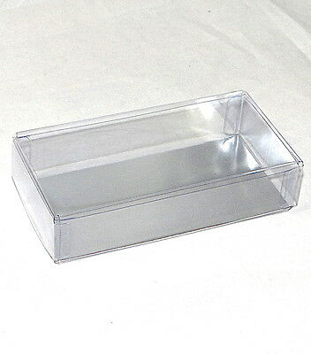 Chocolate dipped OREO Cookie 2 pc Clear Favor Boxes with Silver Insert-Asst Qtys