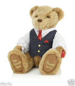 HARRODS-OF-KNIGHTSBRIDGE-LONDON-2013-DATED-TEDDY-BEAR-CHARLES-STEPHENS-XMAS-GIFT