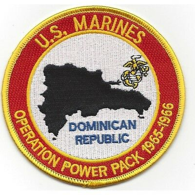 U.S. Marine Corps Operation Power Pack Dominican Republic Patch 1965-1966 NEW!!!