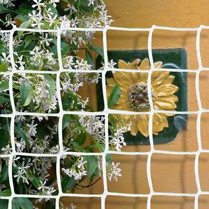 Climbing Plant Support Mesh Plastic Garden Net Clematis Bean Trellis Brown 1mx5m