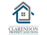 looking for 3 bedroom+ properties, long term GUARENTEED rent