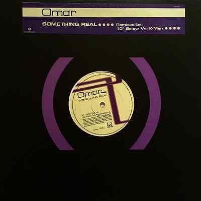 "OMAR - Something Real (12"") (Promo) (EX+/VG+)"