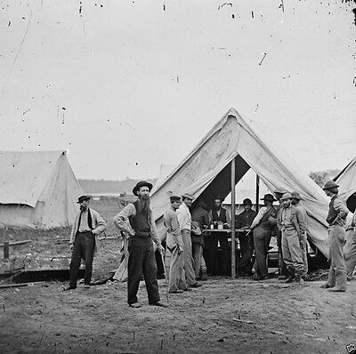 - Union Army Sutler's Tent 2nd Div. 9th Corps Petersburg,VA - 8x10 Civil War Photo