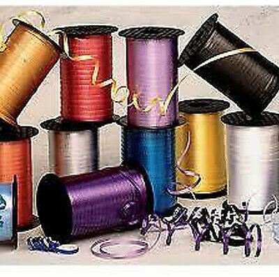 Curling Ribbon in variety of Colours - Red, Ivory, blue etc 25m, 50m or 100m
