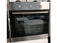 a475 stainless steel flavel single electric oven comes with warranty can be delivered or collected