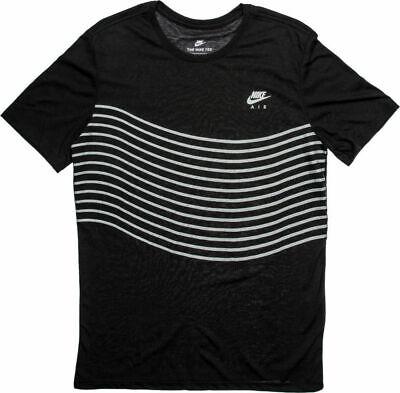 Men's Nike T-shirt Air Max 97 Tri Blend Lines Short Sleeve Fashion 834616 SMALL Fashion Tri Blend T-shirt