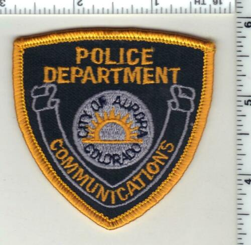 Aurora Police (Colorado) 2nd Issue Communications Cap/Hat Patch