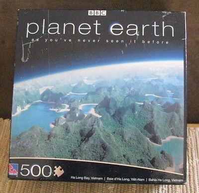 BBC Planet Earth 500 piece Jigsaw puzzle Ha Long Bay Vietnam NEW Sealed Box