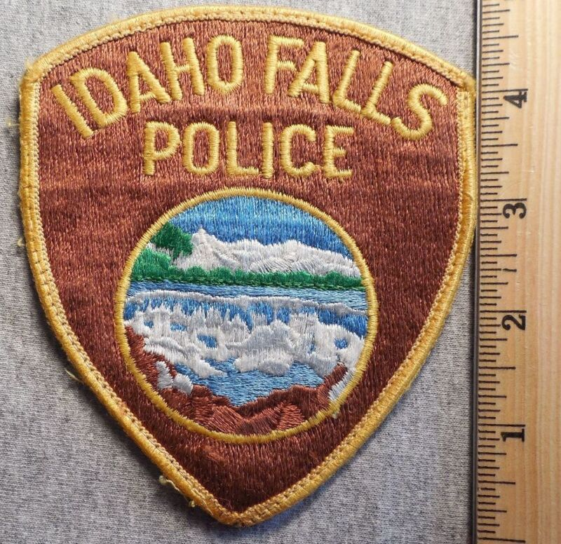 IDAHO FALLS IDAHO POLICE PATCH (HIGHWAY PATROL, SHERIFF, EMS, STATE)