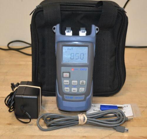 EXFO FLS-600-MM-SM 850/1300nm LED Source & 1310/1550nm Laser Source GOOD Qty Ava