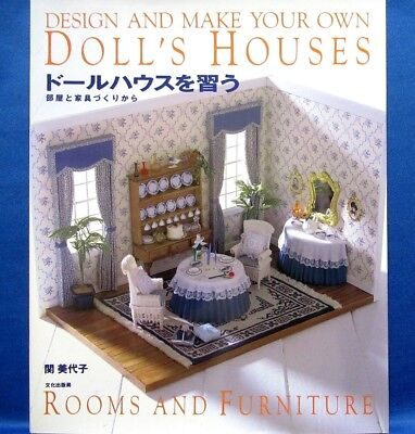 Room & Furniture Doll's Houses /Japanese Handmade Miniature Doll House Book  for sale  Shipping to United States