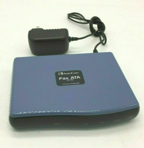AudioCodes Fax ATA MP202B/2FXS - AC adapter included
