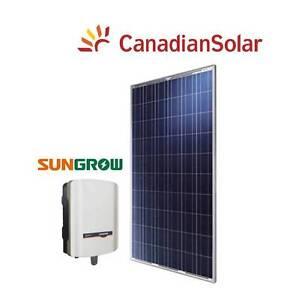 5kW Solar System Tier 1 Canadian Solar Panels + Sungrow Inverter Brisbane City Brisbane North West Preview