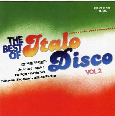 2CD  The Best Of Italo Disco Vol. 2 -   2 CD