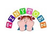 PLACES now available at our TINY TOEZ NURSERY BURTON