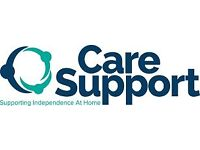 Care and Support Worker required for busy home care office in Newham
