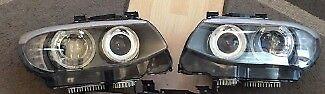 Car part: Pair of used OEM UK Full LED LCI Xenon headlights BMW 3 series E92 E93 2005 - 2012 RHD