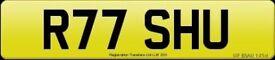 Personalised registration plates