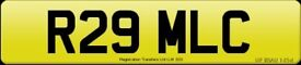 R29 MLC CHERISHED NUMBER PLATE