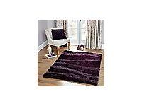 Dunelm Mill Aubergine Vibe Shaggy Rug - Never Used