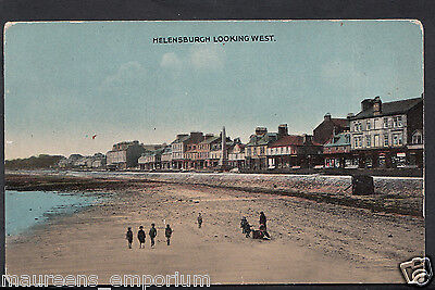 Scotland Postcard - Helensburgh Looking West    RT1836