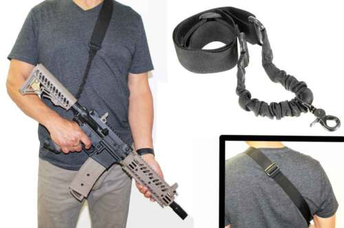 Tactical Sling one point black For Tippmann TMC Paintball marker paintballing ge