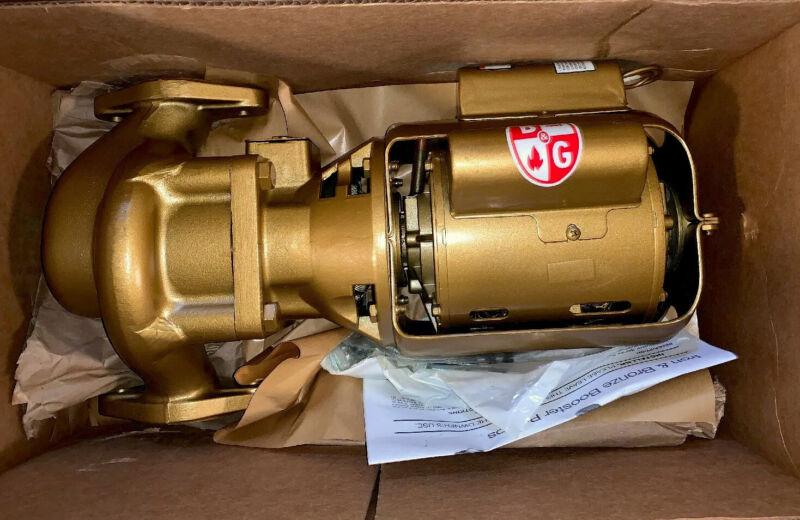 NEW Bell & Gossett W02213LF HV BNFI Booster 5JPD4