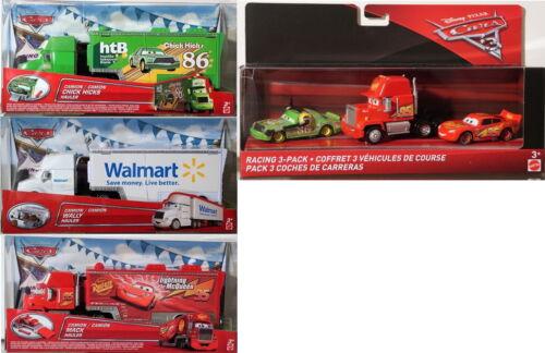 #01 Cars Disney Pixar Car - Scale 1/55-Aussuchen: Hauler / Truck / 3-Pack