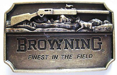 GÜRTELSCHNALLE  BROWNING  JAGD  COW BOY   USA   COUNTRY  - Ref.30