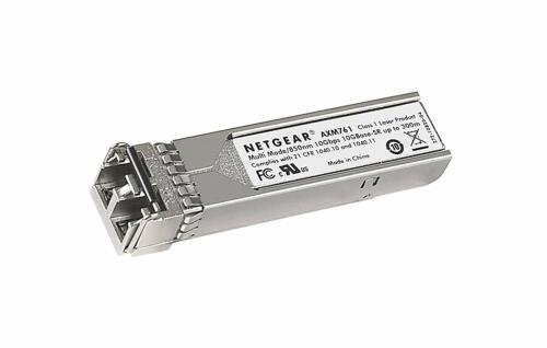 NETGEAR ProSAFE 10GBASE-SR SFP+ LC GBIC  (AXM761-10000S) * * BRAND NEW * *