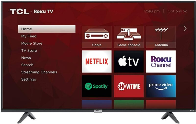 "TCL 55S435 55"" 4-Series 4K UHD HDR LED Smart Roku TV | 4 HDMI"