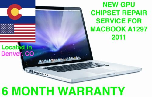 """Apple Macbook Pro Early Late 2011 15/"""" 17/"""" A1286 A1297 GPU Replacement Service """
