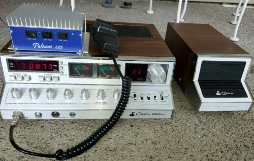 Cobra 2000 GTL 40 Channel AM/SSB radio and Palomar 225 Amplifier . Buy it now for 400.00