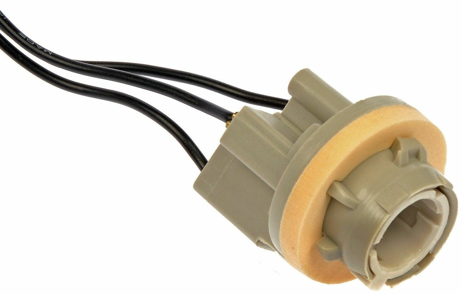 Stop Tail /& Turn Socket Dorman 643-058 3-Wire Ford /& GM Double Contact Park