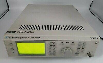 Philips Fluke Pm5138023 0.1mhz-10mhz Programmable Digital Function Generator