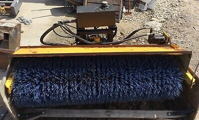Used Mb Companies Sweeperbroom Pto Hydraulic Power Tractor Mount 72 Wide Nice