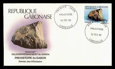 DR WHO 1990 GABON FDC PREHISTORIC TOOLS KNIFE BLADE  C243326