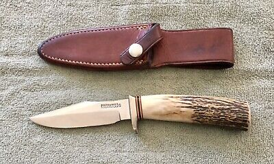 "Randall Made Knife Model 8-4"" Trout And Bird JRB W/Extras NR"