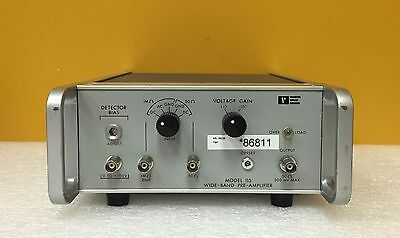 Princeton Applied Research Model 115 70 Mhz 10100 Gain Wide-band Pre-amplifier