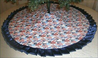Patriotic / Christmas Tree Skirt ~ 47
