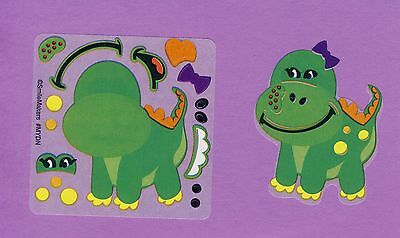 15 Make Your Own Dinosaur Stickers - Party Favors - Rewards
