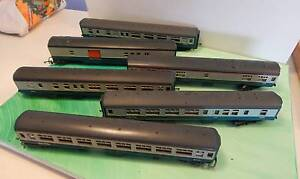 Model Train Carriages HO Nowra Nowra-Bomaderry Preview