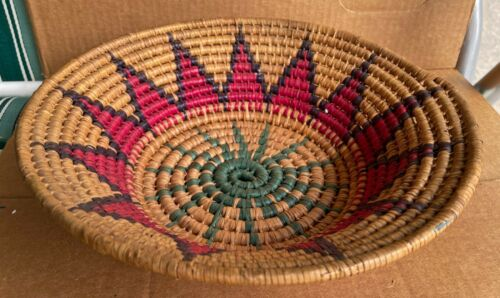 Decorative Woven Coil Basket From Mom