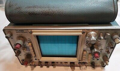 Tektronix 465 Analog Oscilloscope For Parts All Knobs And Switches