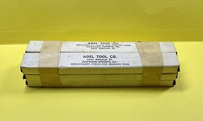 Lot Of 6 Nos Adel Replacement Tool Punch For Nibbling Tool Sheet Metal